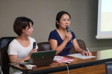おりづるプロジェクトの帰国報告が、長崎のラジオや広島の新聞で紹介されました