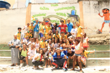 ピースボールのブラジルキャンペーンが「オルタナ」に掲載されました