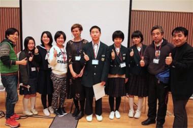 「福島子どもプロジェクト」に参加した南相馬の中学生が、国際会議で発表しました