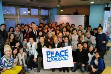 「脱原発は命の問題!」 南相馬市の桜井勝延市長がピースボートを訪問されました