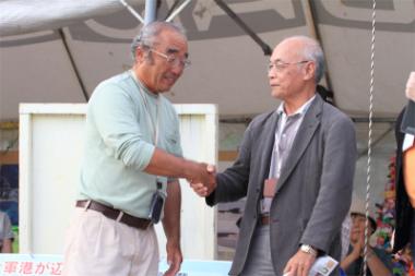 新基地建設をめぐり揺れる辺野古を訪問した様子が、沖縄のメディアで取り上げられました
