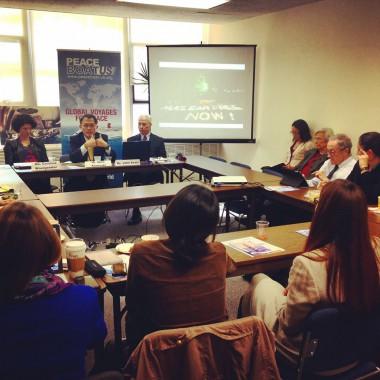 国連総会で核の非人道性と軍縮教育に関するイベントを開催しました