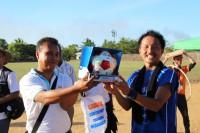 Jリーグチーム「京都サンガF.C.」からサッカーボールをご提供いただきました