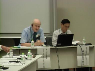日本の核燃料サイクルの問題点を米国の専門家と共に国会で議論しました