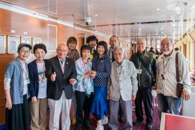 8/15 世界ウルルン滞在記で東ちづるさんのピースボート体験が紹介されました