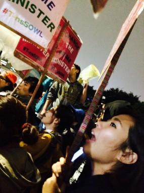 安保法案反対デモについての記事を、韓国ハンギョレ新聞にスタッフのホ・ミソンが執筆しました