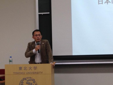 安保法制に関する東北大学での講演会の様子が河北新報で報じられました