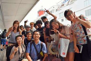 第9回日韓クルーズで「地球大学体験プログラム」を開催します!
