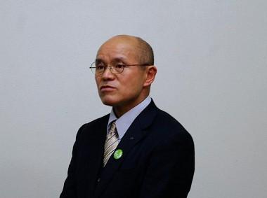 「原発事故を風化させない!」南相馬市の桜井勝延市長がピースボートを訪問されました