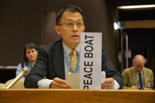 核兵器禁止のための国連作業部会に参加し、その様子がNHK等で広く報道されました