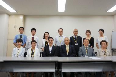 第9回「おりづるプロジェクト」参加者らが非核特使に委嘱されました