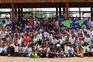 カンボジアで「ピースボート・スナハイ小学校」開校式を開催しました