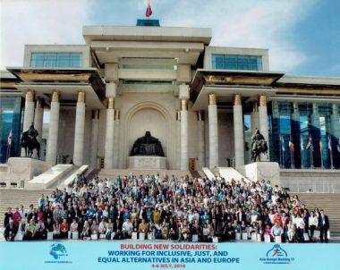 平和と公正のための連帯を-モンゴルで「アジア・欧州民衆フォーラム」に参加しました