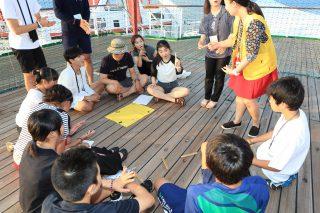夏、海を越えた子どもたちの大交流!