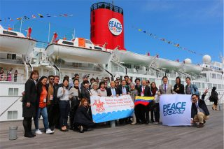 軍事力でなく世界に平和の文化を! 第94回ピースボート地球一周の船旅が出航しました