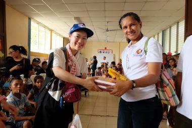 【支援物資募集】第95 回ピースボートで訪れる国々に届けます