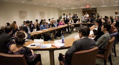 核兵器禁止条約の制定に向けて-交渉会議にピースボートが参加しています