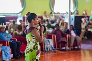 気候変動に取り組む島嶼国の若者たちが乗船、洋上で国連COP23の公認プログラムを実施