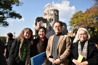 核軍縮「賢人会議」への働きかけやICANの活動が報道されました(2017年11月の報道)