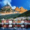 輝く季節、感動の航海へ − 初夏の北欧全5ヶ国をめぐる