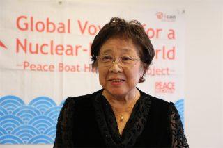 世界の若者たちに被爆証言を届ける・第99回ピースボートが横浜港に帰港しました