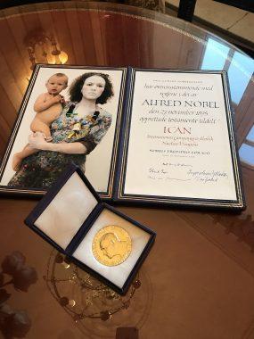 ノーベル平和賞メダルの全国出張を、2019年も引き続き行います!(2月より受付開始)