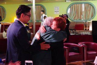 ウルグアイ副大統領ルシア・トポランスキーさんが訪船されました