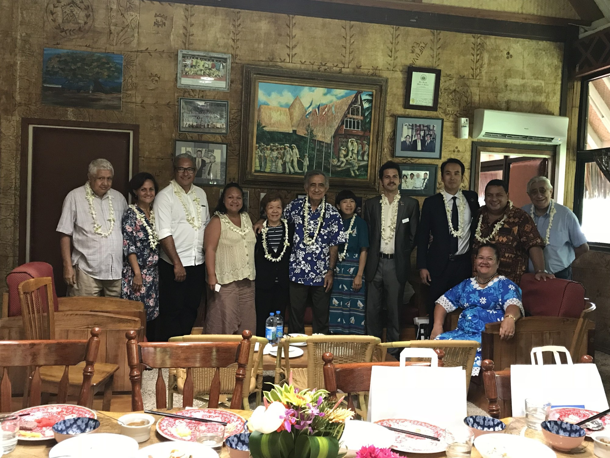 Peace Boat Hibakusha Project in Tahiti
