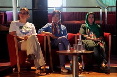 ドイツとイランからの若者が第80回ピースボート「地球一周の旅」に合流しました