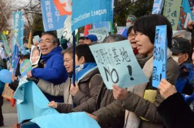 ピースボートが共催した沖縄・辺野古の基地建設への抗議行動が新聞各社で取り上げられました