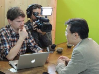 米国独立メディア・デモクラシーナウの取材を受けました
