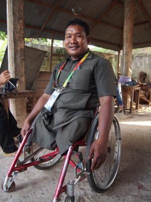 カンボジア地雷被害者による講演会を開催する学校を、募集しています