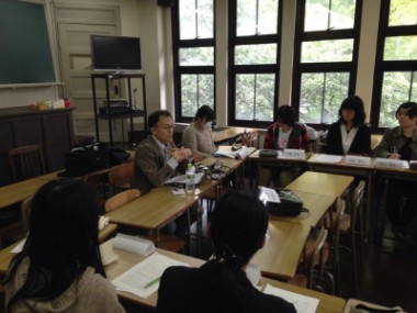 核問題に関する川崎哲の講義の様子が長崎で報道されました