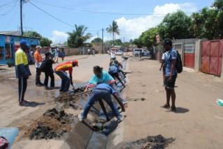 アフリカの若者と防災について学ぶ