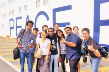 英語で学ぶ! 2015年夏期・地球大学「特別プログラム」を行います