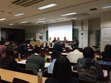 和光大学「始まりをつくる旅、地球を知る旅」のシンポジウムでピースボートスタッフが登壇しました