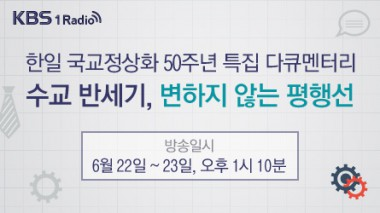 日韓国交正常化50周年に韓国のラジオでピースボートが紹介されました