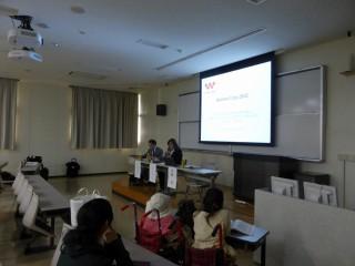 日本平和学会で東北アジアNGOの平和活動について発表しました