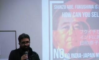 インドから日印原子力協定締結へ反対の声を政府へ届けました