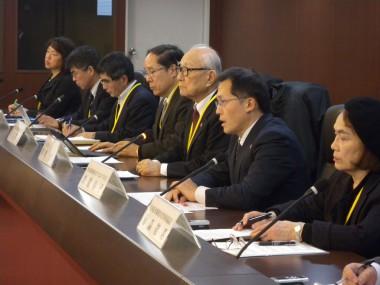 核兵器廃絶のための外務省への要請活動が報道されました