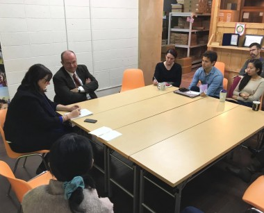 GPPAC事務局長が来日、紛争予防について議論を深めました