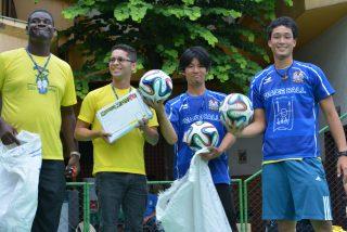 ピースボールプロジェクト2014年度活動報告