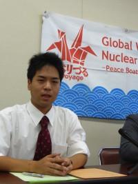 第9回「ヒバクシャ地球一周 証言の航海」参加者を広島で発表しました