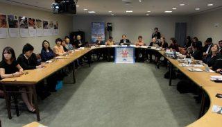 核兵器禁止条約の実現に向け、ヒバクシャが世界で語り伝えました