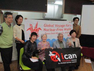 10/9(月)ノーベル平和賞受賞を受けて、緊急一時帰国 ICANの川崎哲が、ヒバクシャに直接受賞を報告します!