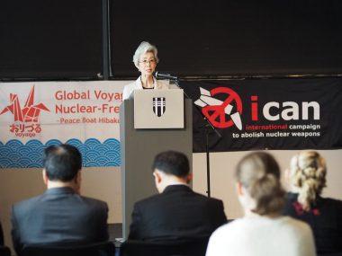 ノーベル平和賞を胸に世界各地で核廃絶を訴えた! 第95回ピースボートが横浜に帰港します