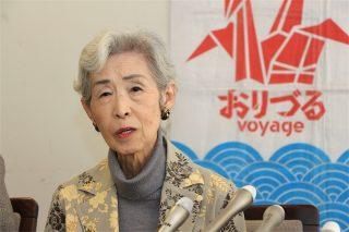 世界で問われた「なぜ日本は核兵器禁止に反対するのか?」 第95回ピースボート帰港記者会見を実施しました