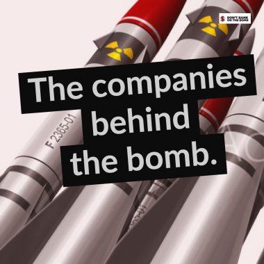 世界20の核兵器製造企業に329の金融機関が55兆円を提供。日本からは7銀行等が2兆円―ICANが新レポートを発表