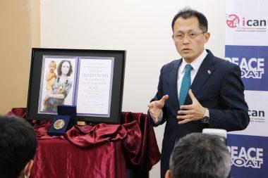 朝鮮半島の非核化に核兵器禁止条約を生かせ-ICANに関わる活動が広く報道されました