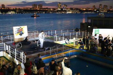 ニューヨークに第98回ピースボートが寄港。船上でSDGsに関するイベントを国連と共催しました!
